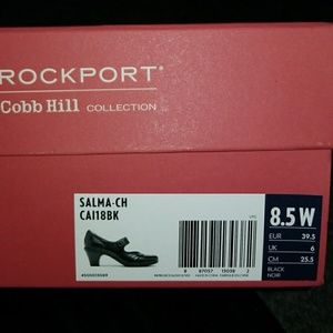 Rockport Cobb Hill Black heel